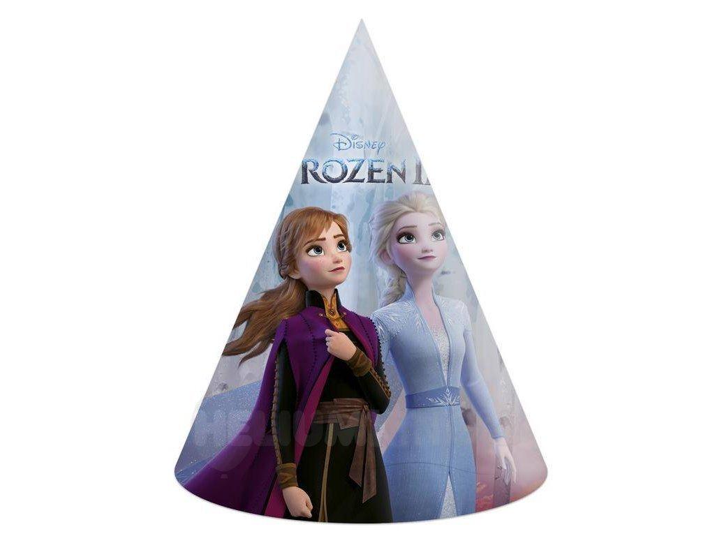 Párty klobúčiky Frozen 2 (6 ks)