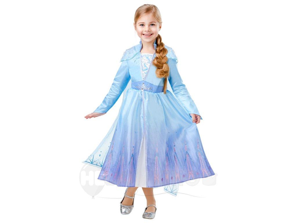 Detský deluxe kostým - Elsa (šaty)