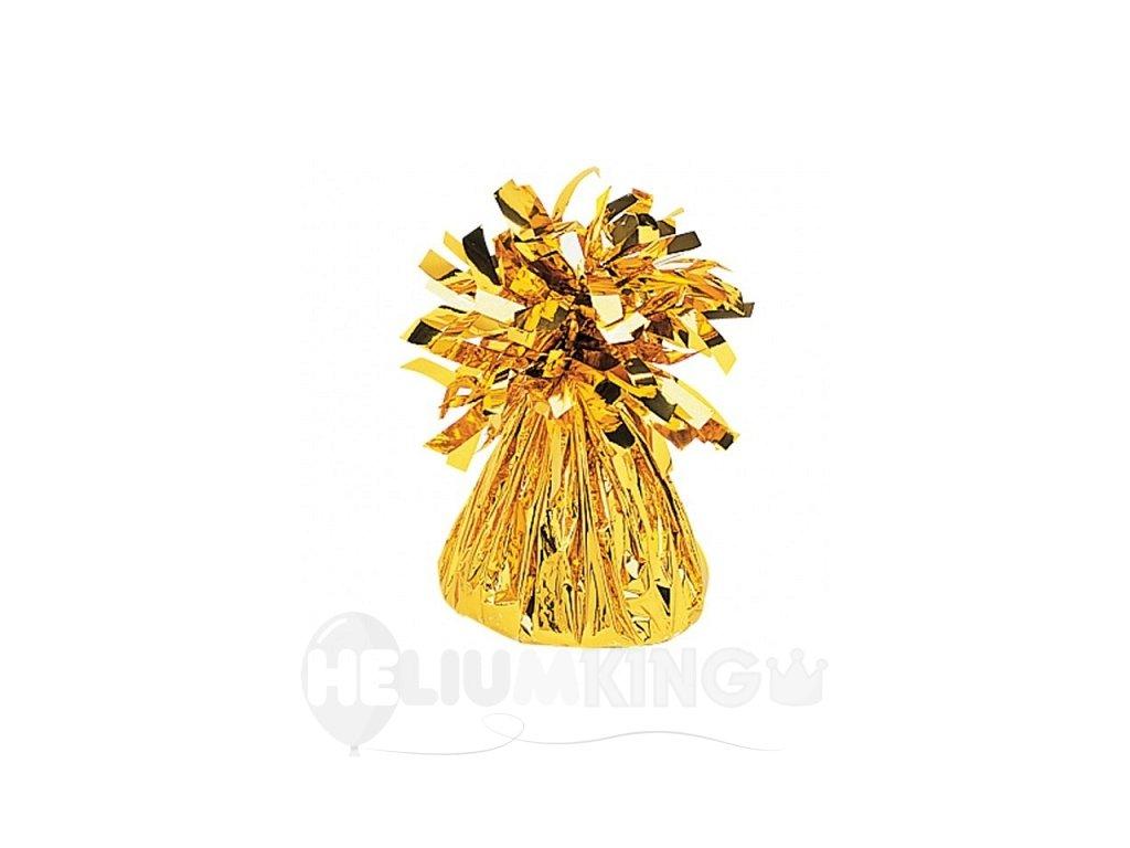 Fóliové závažie na balóny zlaté