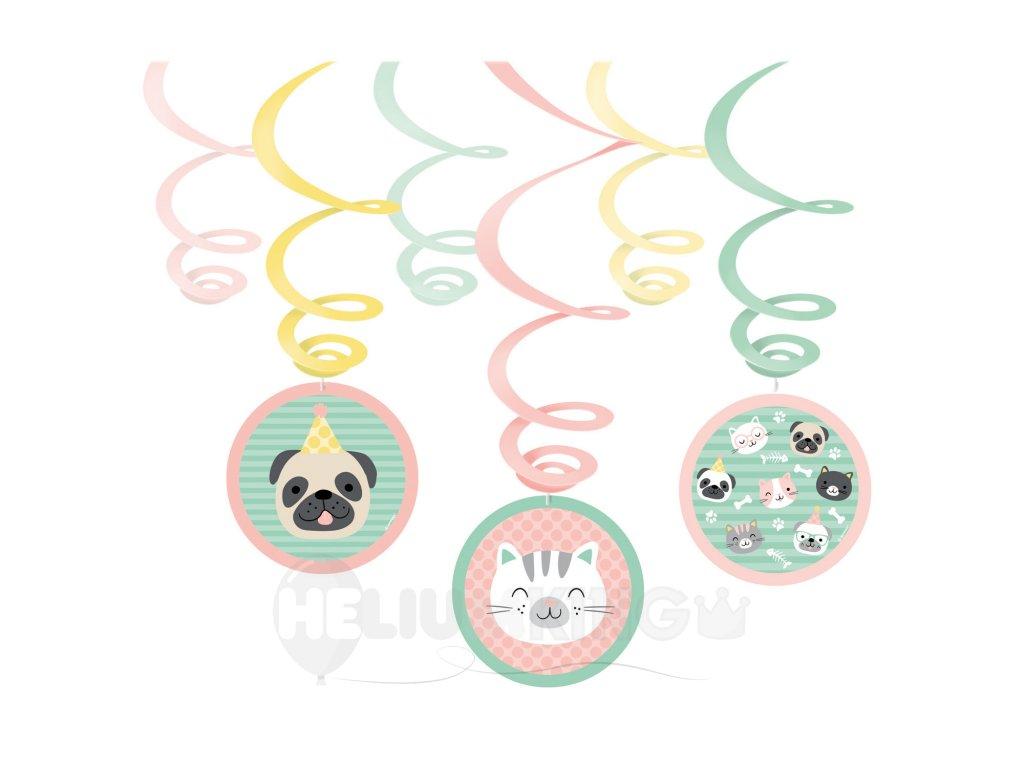 Visiaca dekorácia Hello Pets