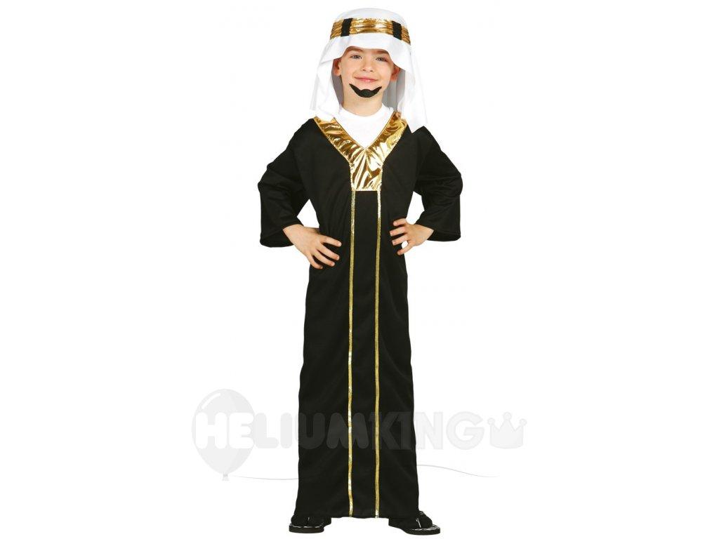 Detský kostým Šejka (Veľkosti 10-12 rokov (výška 142-148cm))