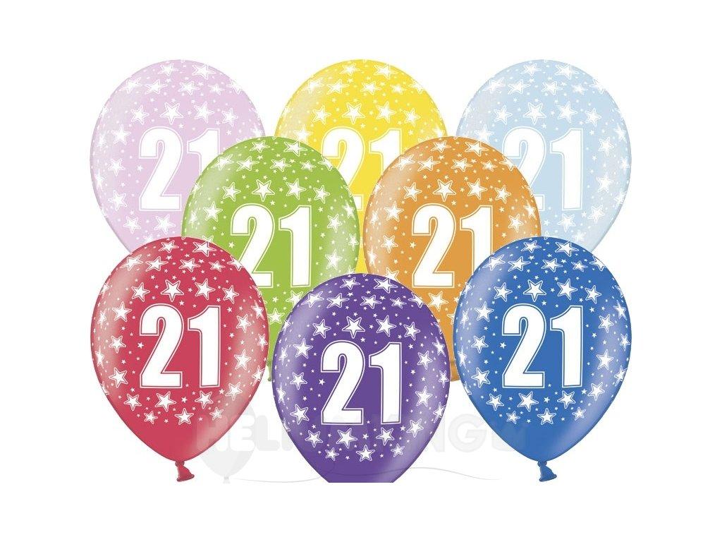 Lacny balon cislo 21