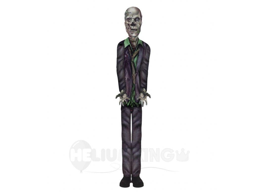 Halloweenska papierová dekorácia - Zombie