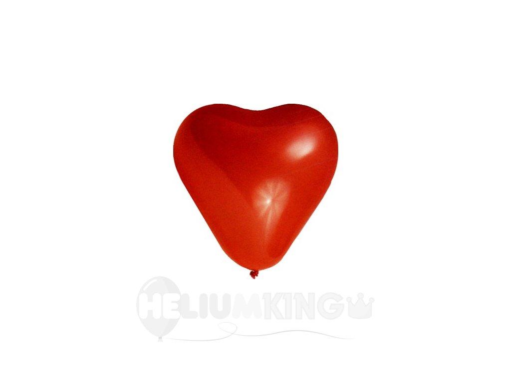 Lacne cerveny balon srdce