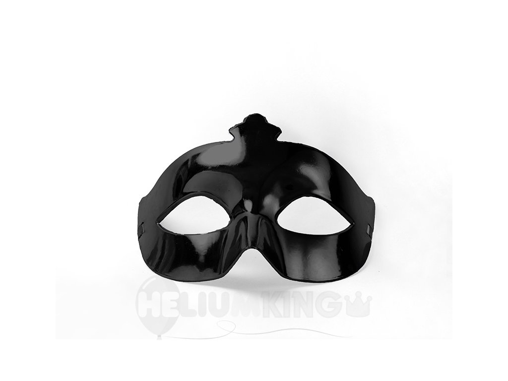 Party maska čierna