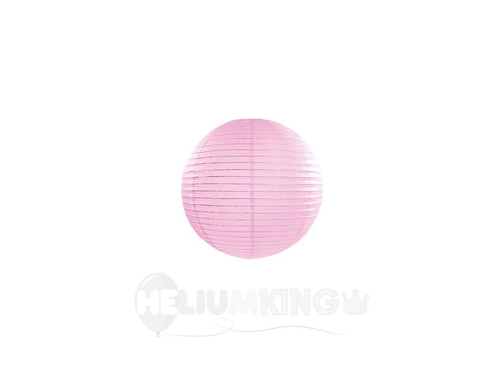 Papierový lampión ružový