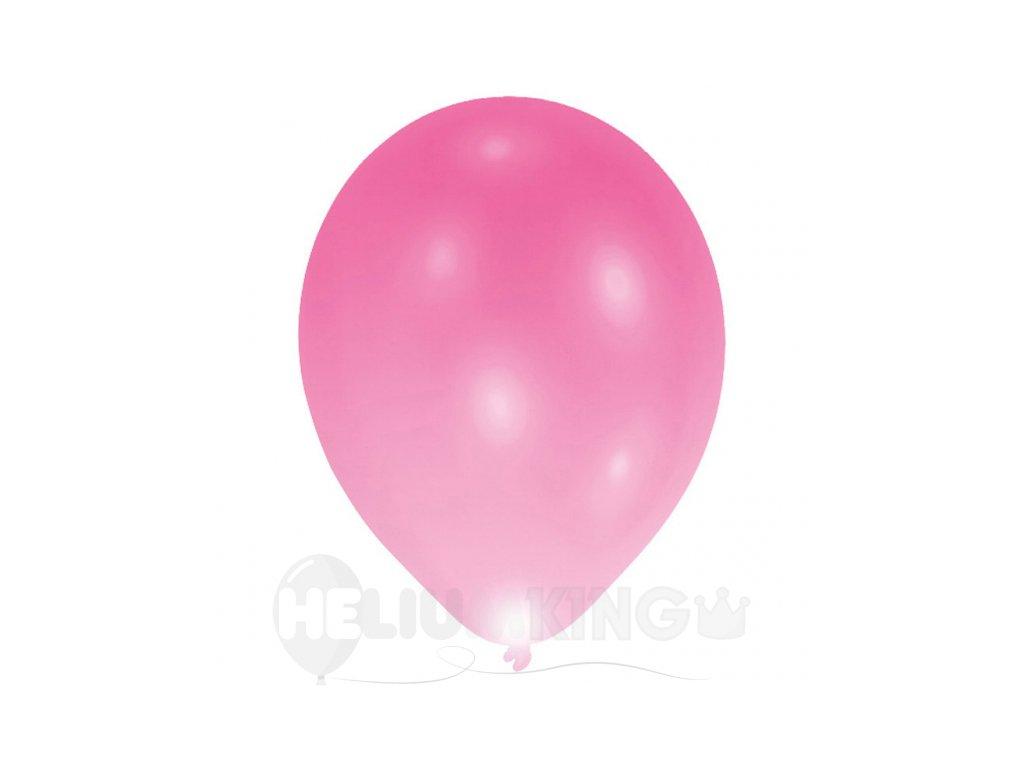 Latexový LED balon ruzovy