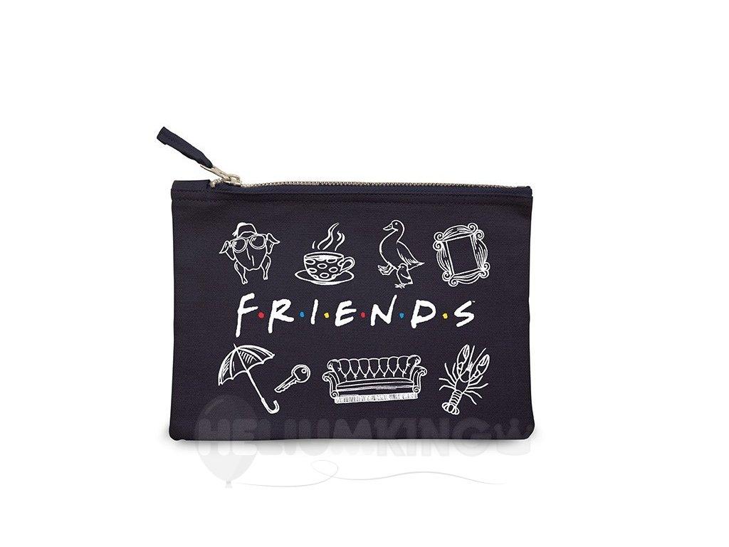 Kozmetická taštička – Friends/Priatelia