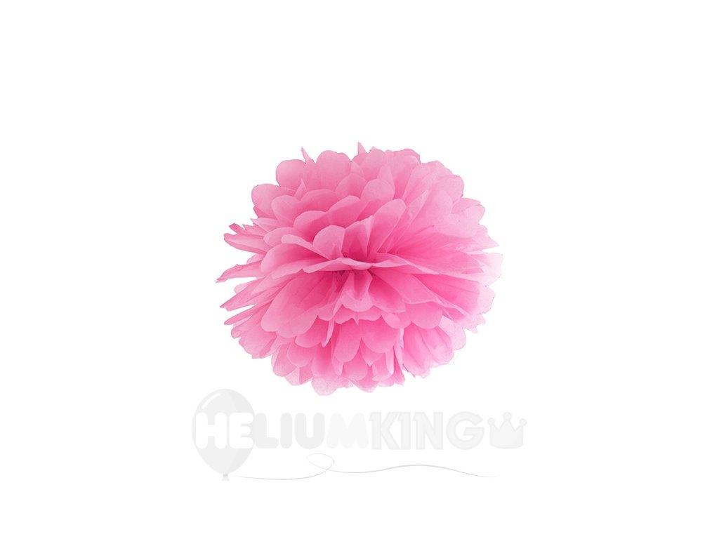 pompom ružovy