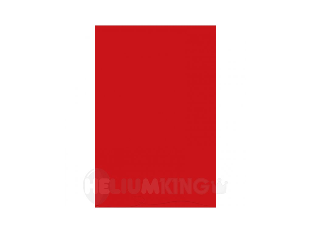 Obrus plastový červený 137 x 274 cm