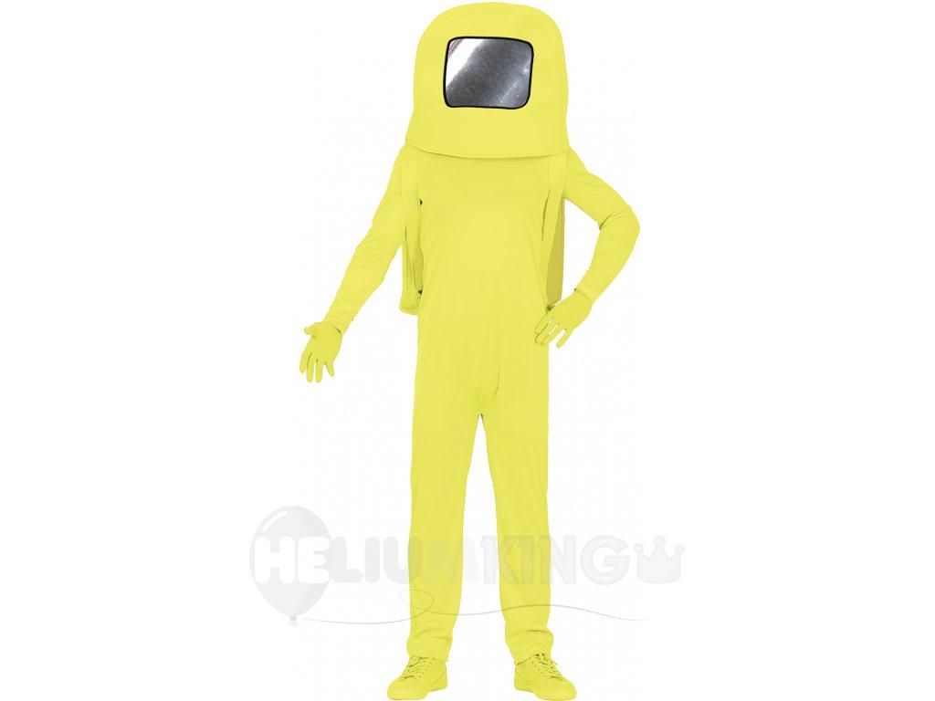Detský kostým - Among Us žltý