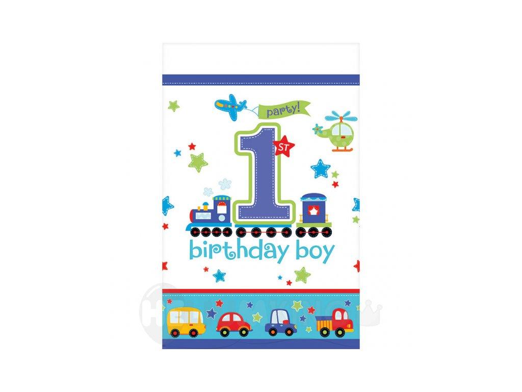 Obrus Sladke narodeniny chlapec