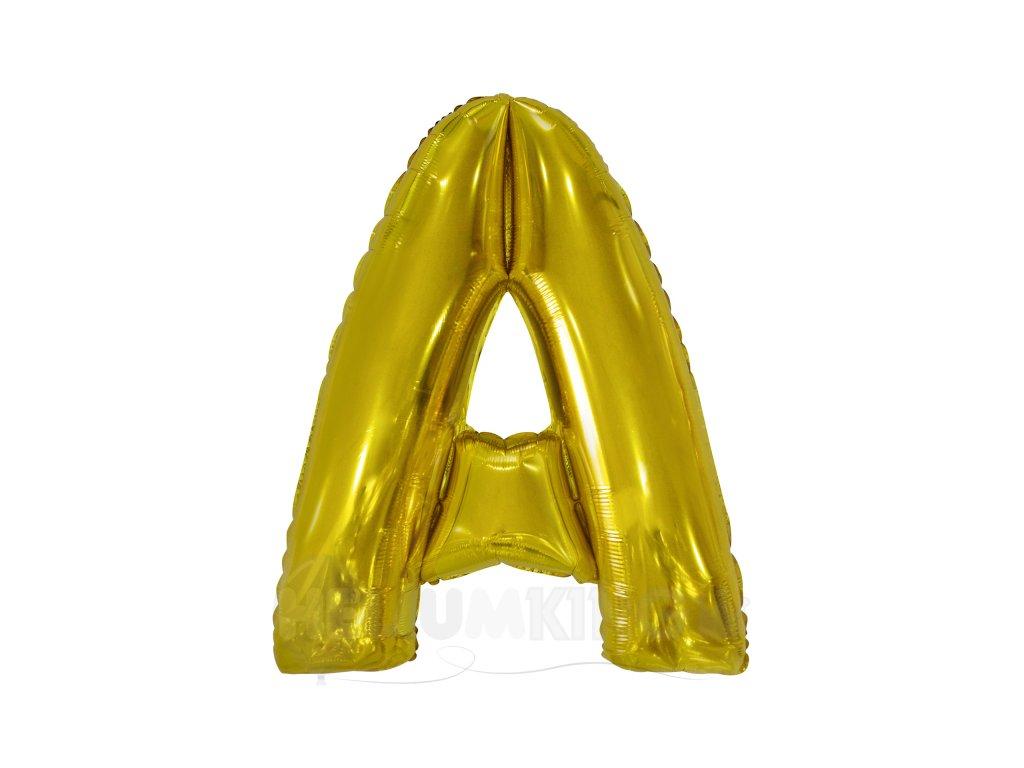 Balon písmeno A