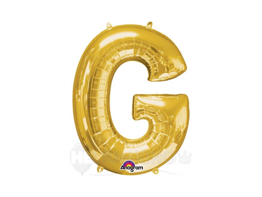 Balon pismeno G