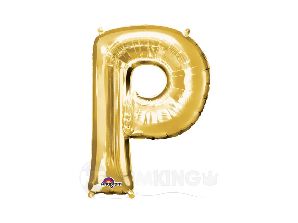 Balon pismeno P