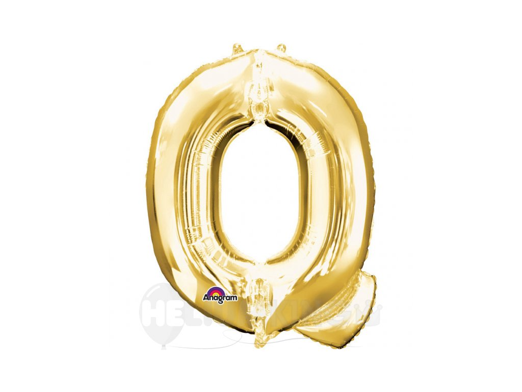 Balon pismeno Q