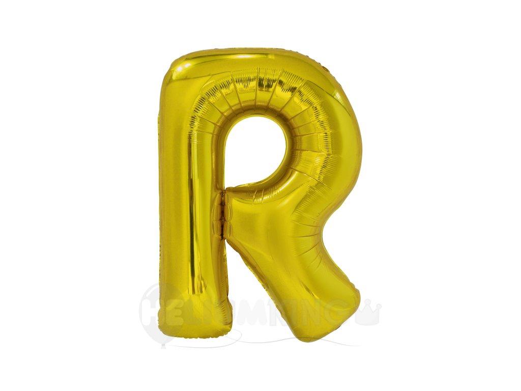 Balon pismeno R