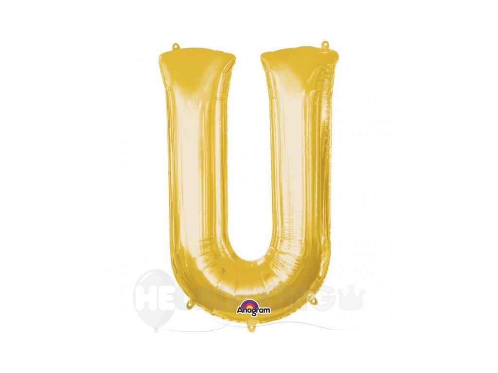 Balon pismeno U