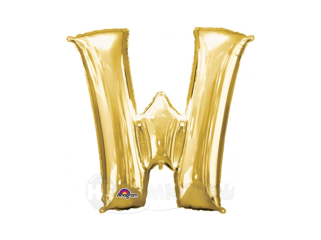 Balon pismeno W