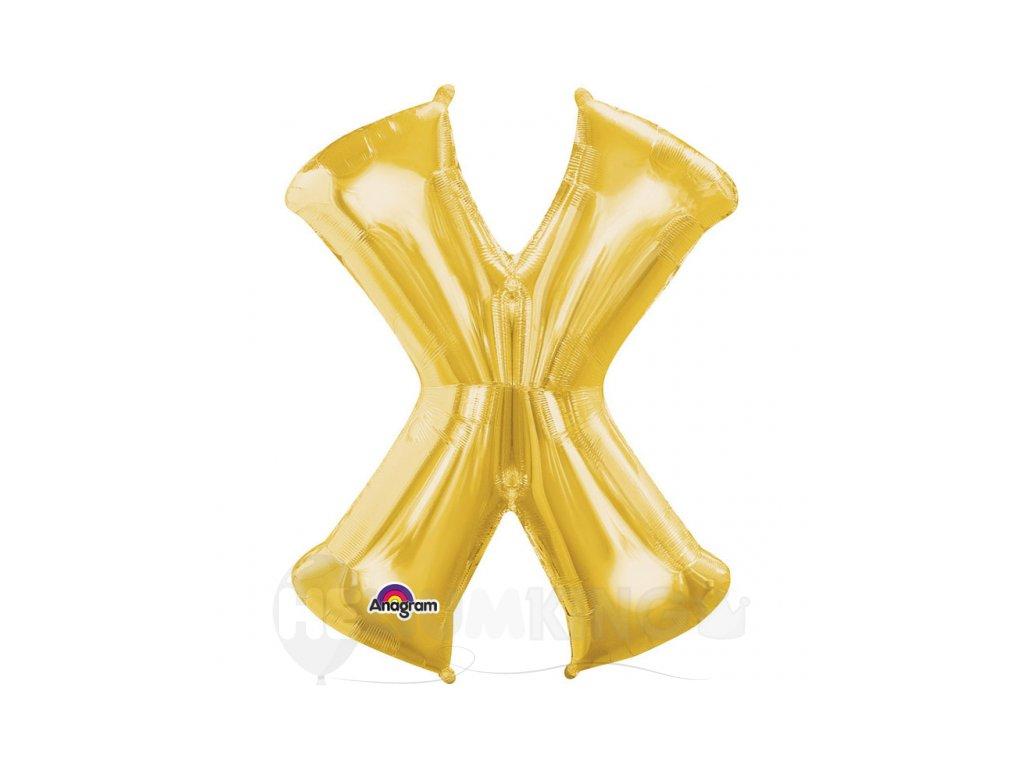 Balon pismeno X