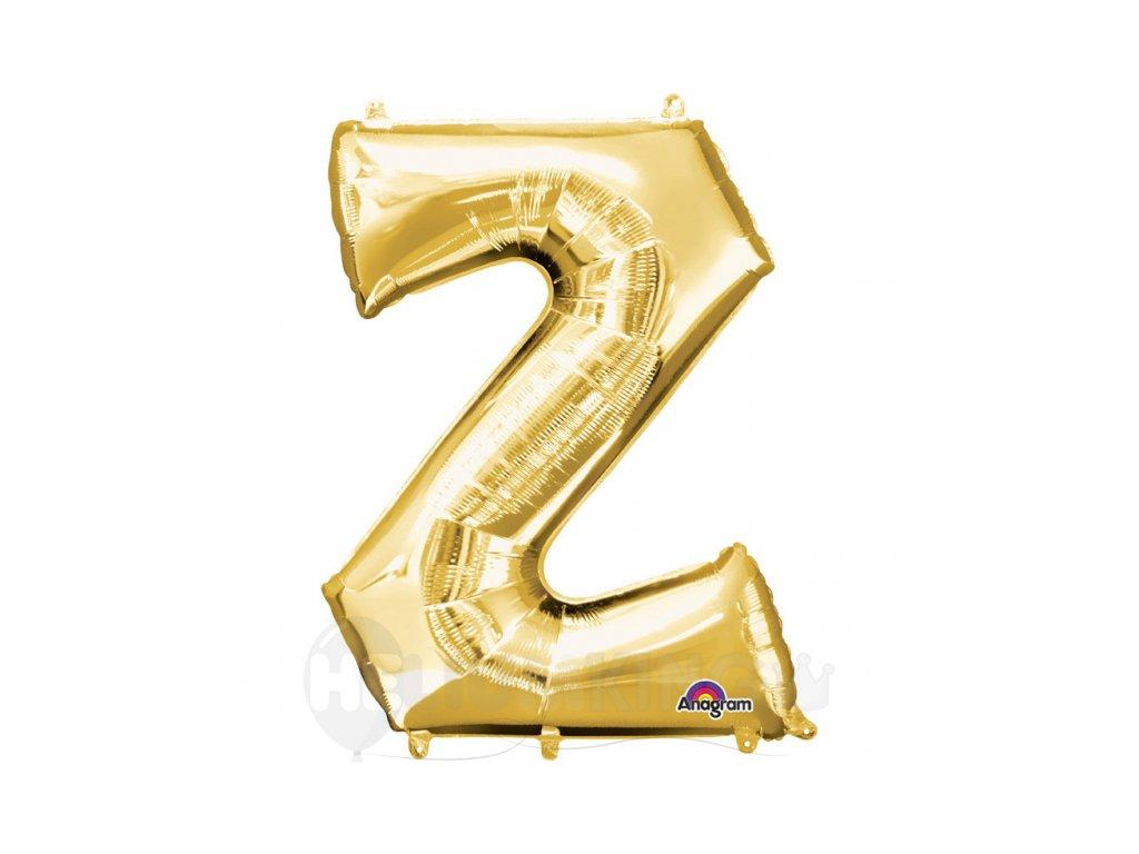 Balon pismeno Z