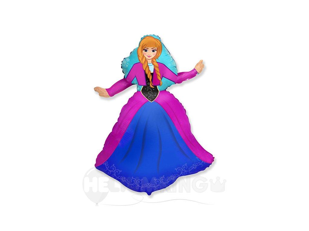 Fóliový balón Frozen Anna