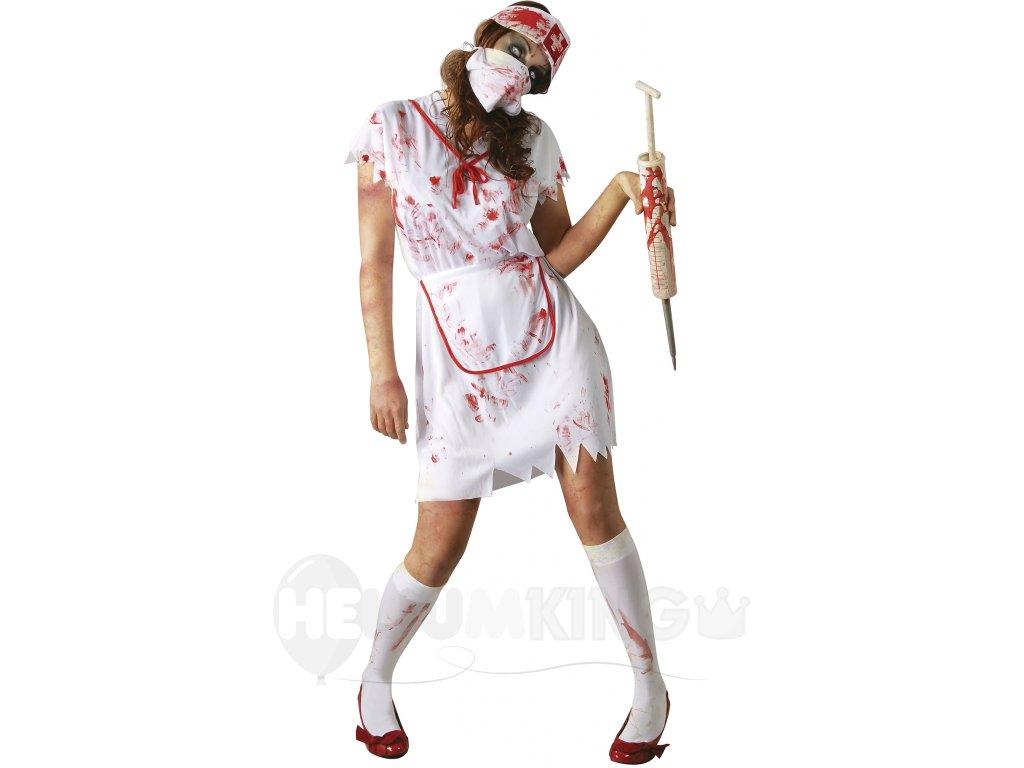 Kostým Zombie zdravotná sestra - HeliumKing.sk a2c86cd42d6
