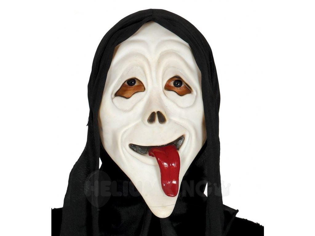 Maska s kapucnou
