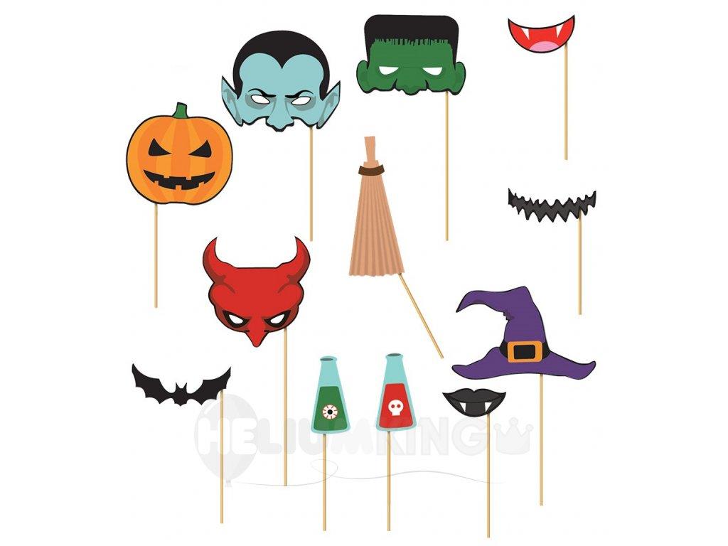 Rekvizity na fotenie halloween
