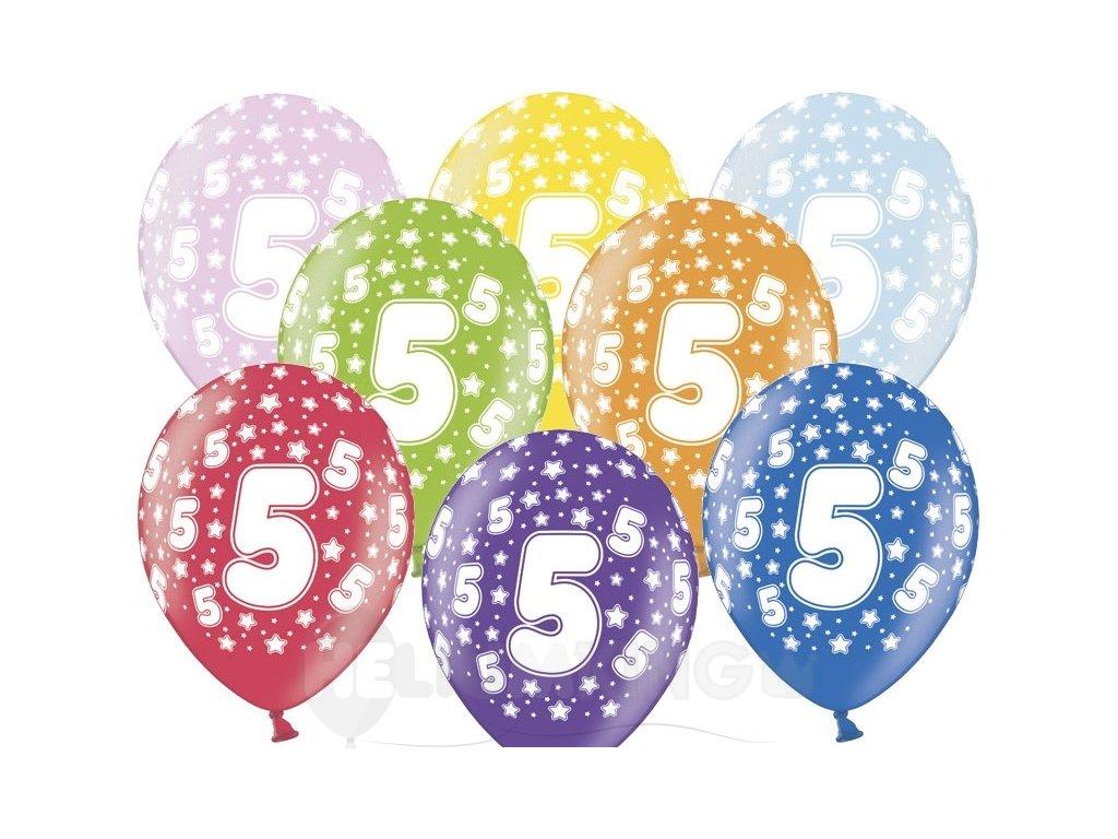 Lacny balon cislo 5