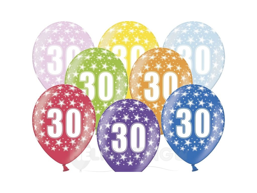 Lacny balon cislo 30