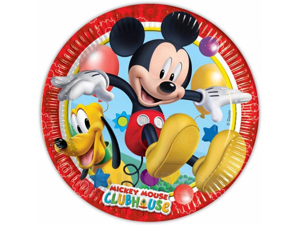 Taniere párty Mickey 8 ks