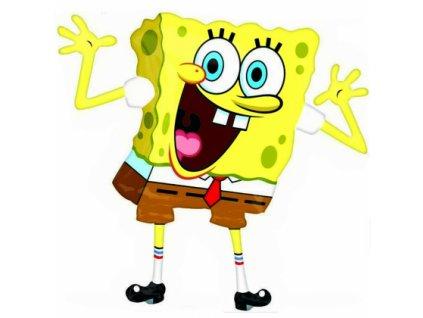 spongebob super shape foil balloon amscan 22929 420x420