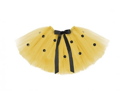 Sukňa žltá TUTU - Včielka 50 x 25 cm