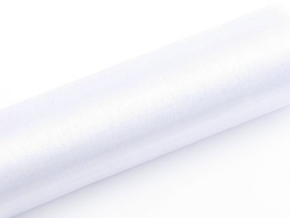 Organza biela 16cm x 9m