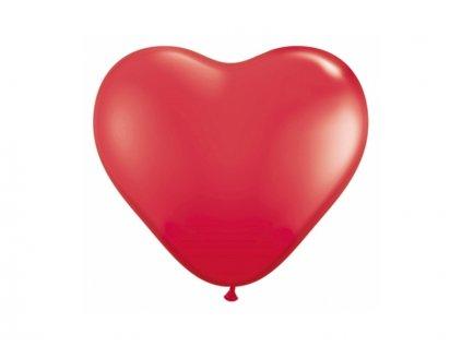 Cerveny balon srdce
