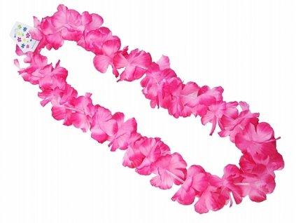 Havajsky veniec ruzovy