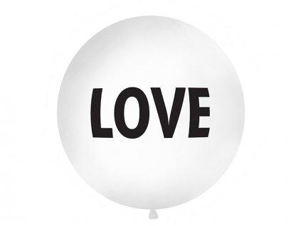 Metrovy balon 1m love