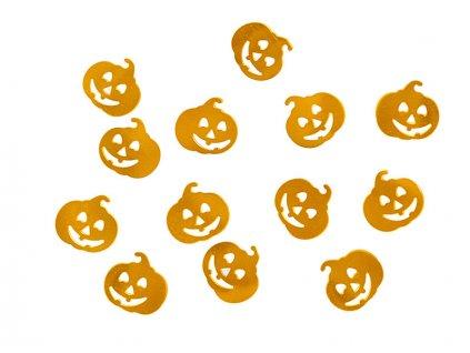 Metalické konfety Halloween