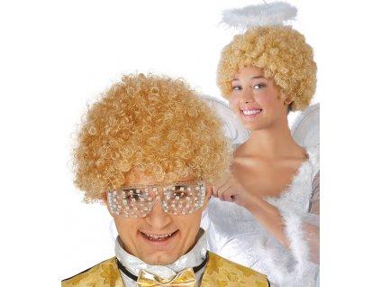 Kucerava blond parochna