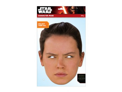 Papierová maska Rey (Star Wars)