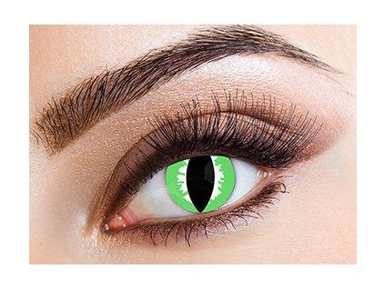 Eyecasions Green Lizard Contact Lenses