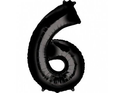 Foliovy balon cislo 6