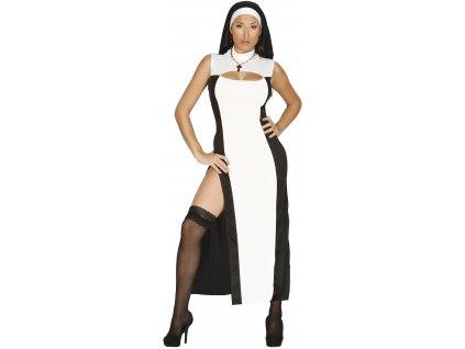 Kostým Sexy Mníšky (Veľkosti M)