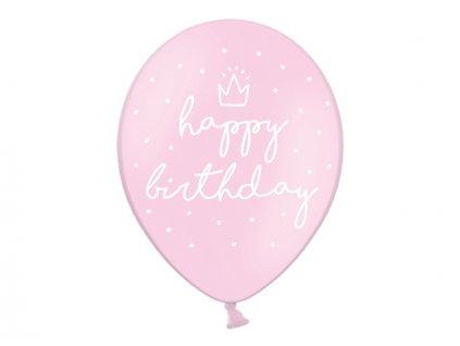 Balónik RužovýVeselé Narodeniny
