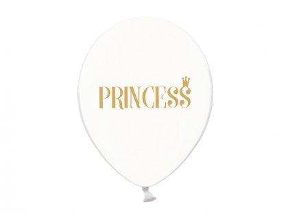 Balónik Priesvitný Princezna