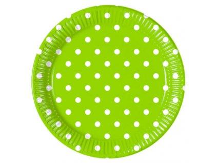 Taniere bodkovane zelene