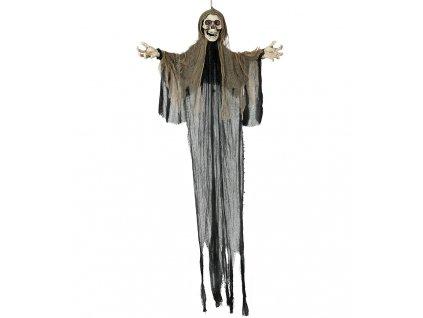 Visiaca dekorácia - Kostra s kapucňou