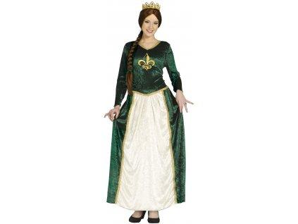 Kostým Stredoveká kráľovná (Veľkosti L)