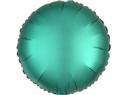 Fóliový okrúhly balón - Tyrkysový 43 cm